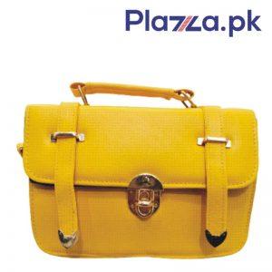 Yellow-rexine-women-purse-3