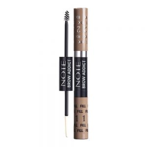 Note Brow Addict Tint & Shaping Gel, 02 Light Brown